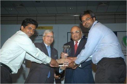 Best Student Plan Award in PAN-IIT Global Conference 2008