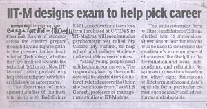 MCMF Psy Instrument-ToI-18 Oct 2014, Bangalore